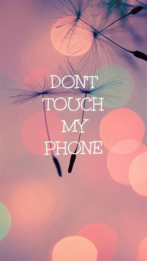 Don't Touch My Phone 5 Mobile Phone HD Wallpapers | HD